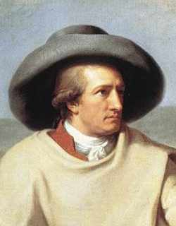 Goethe dans la campagne romaine, Tischbein, 1787